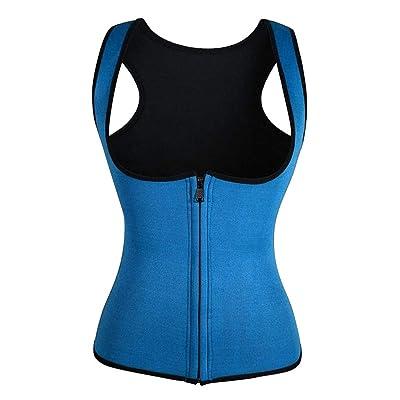 Women Fitness Corset Sport Body Shaper Vest Women Waist Trainer Workout Slimming Neoprene Sport Sweat Vest: Industrial & Scientific