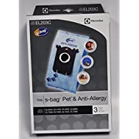 Electrolux S-Bags Pet and Anti-Allergy EL203C 3 Pack