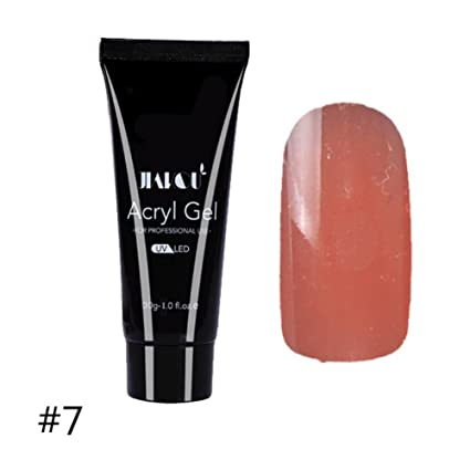 f217cb4af5c4 cocohot 1 pc Quick Building Poly Gel Nail consigli Finger estensione colla  Camouflage Nail Art Costruttore LED UV Nail gel acrilico Poly Gel   Amazon.it  ...