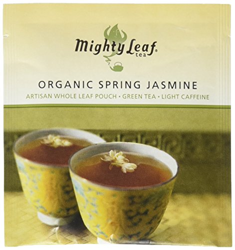 Mighty Leaf Organic Spring Jasmine - (100 Foil Wrapped Tea Pouches) by Mighty Leaf (Image #2)
