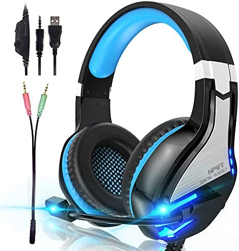 NPET Controller Cancelling Over Ear Headphones product image