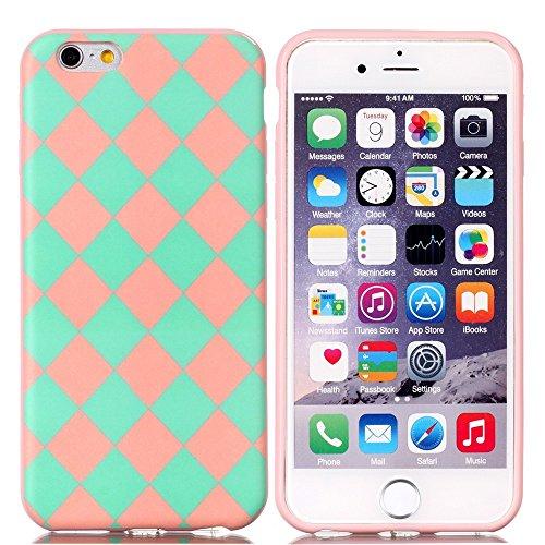 Apple iPhone 6/6S Étui Housse Case Gel/TPU carrelage Multicolore decui Multicolore/TPU Coque en gel