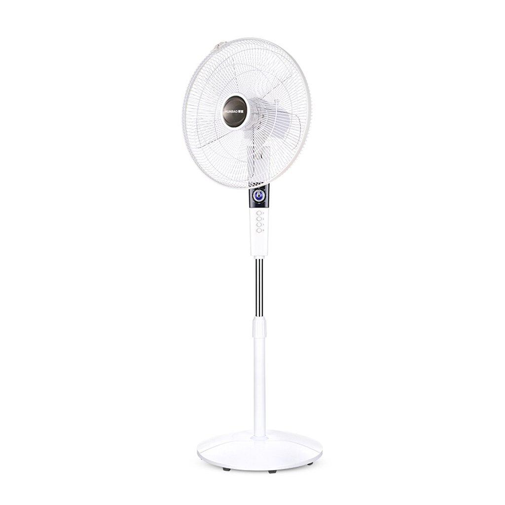 DS- 家庭用電気ファン/床用ファン/機械式学生寮の部屋サイレントデスクトップ電気ファン調節可能な風速/タイミング電気ファン   B07F8R94D7