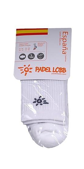 Padel Lobb - Calcetín nación coolmax, talla 43/46 , color ...