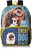 The Secret Life of Pets Big Boys Universal Multi Compartment 16 Inch Backpack, Blue, One Size