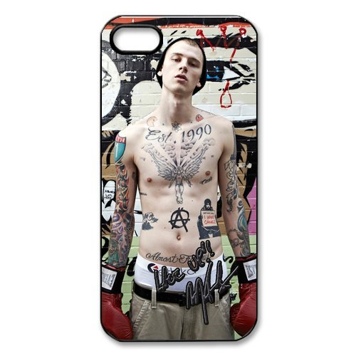 Fayruz- Machine Gun Kelly Protective Hard TPU Rubber Cover Case for iPhone 4 / 4S Phone Cases A-i4K422