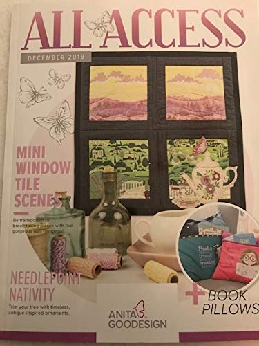 Cheap Anita Goodesign All Access VIP Club December 2019 Embroidery Design CD & Book