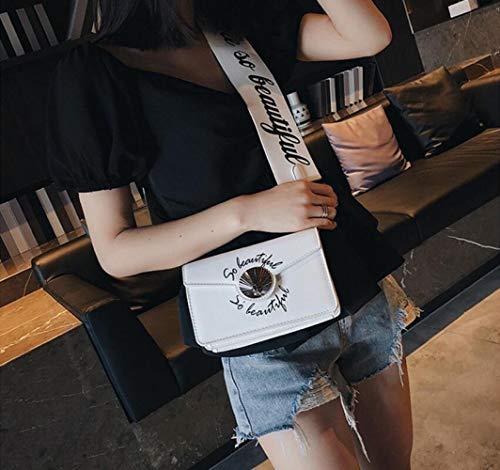 Sbl À Messenger Pu Large Mode De Sac Blanc Messieurs Bandoulière Personnalisé Lettre Occasionnels TTqxwHOr5