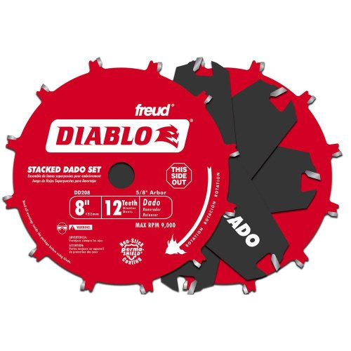 (DIABLO 8 In. x 12 Tooth Car)