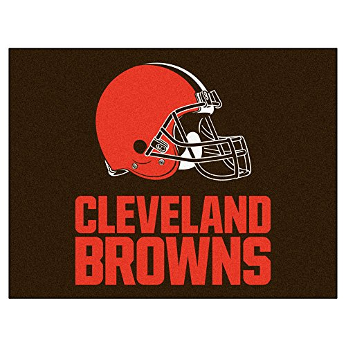 FANMATS NFL Cleveland Browns Nylon Face All-Star Rug
