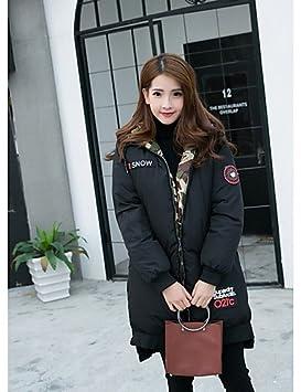 YYYURONG TT & Shangyi edredón de Mujer, Abrigo Simple Casual Liso algodón Polipropileno Manga Larga