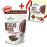 Cacao Nibs Naturally Sweetened with Yacon Syrup - Zero Sugar Keto Paleo and Vegan Friendly - Criollo Raw Cocoa Chocolate Nutritional Protein Snack - USDA Organic 8oz by Alovitox (1 Pack)