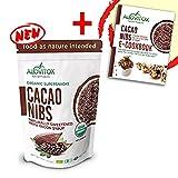 Cacao Nibs Naturally Sweetened with Yacon Syrup - Caffeine-Free Zero Sugar Keto Paleo