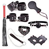 ZHS 7Pcs/Set Bdsm Bondage Erotic Toys Sex Tools For Sale Fetish Nipple Clamps Whip Menottes Flogger For Sex Sm Toys Sexo Cubes (1PC)