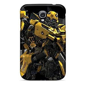 Cynthaskey Premium Protective Hard Case For Galaxy S4- Nice Design - Transformers The Game Bumble Bee