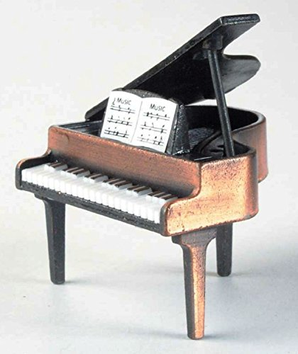 Grand Piano Die Cast Metal Collectible Pencil Sharpener