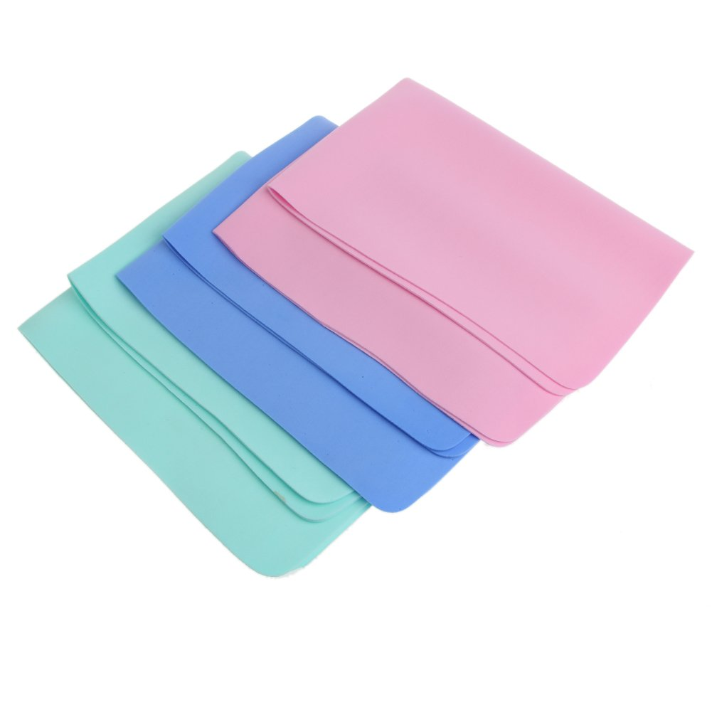 Car Washing Cleaning Towel Wipes Faux Chamois Leather Kitchen Soft Cloth 2 Size (30*40cm)
