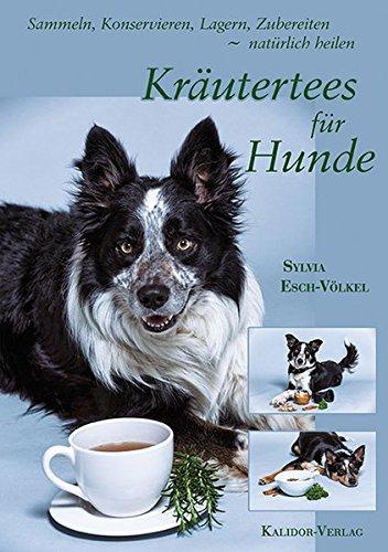 Kräutertees für Hunde: Sammeln, Konservieren, Lagern, Zubereiten - natürlich heilen