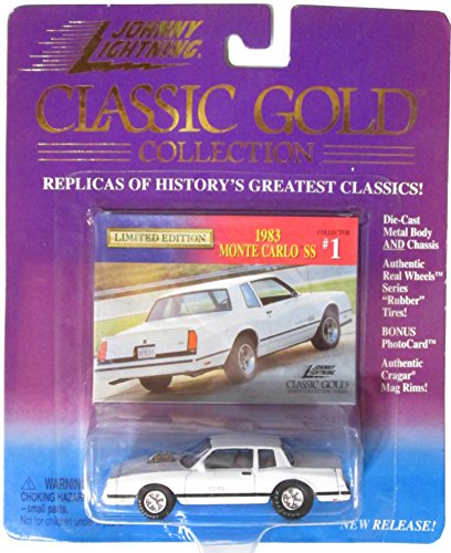 Monte Carlo Gold Series Car (Johnny Lightning Classic Gold Collection 1983 Monte Carlo SS Collector #1)