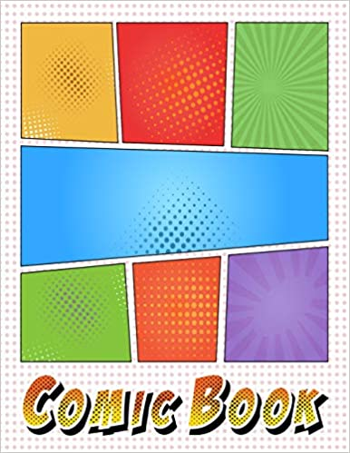 Soft Cover Comic Sketch Book Drawing Notebook For Kids /& Adults Blank Panel Layout: Draw Your Own Comics Size 8.5x11 Multi Strip Template 110 Pages