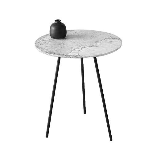 Table XIA Mesa de Centro Redonda, Soporte de Metal for Mesa de ...