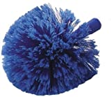 Carlisle 36340414 Flo-Pac Round Duster With Soft Flagged PVC Bristles - Blue (12 PER CASE)