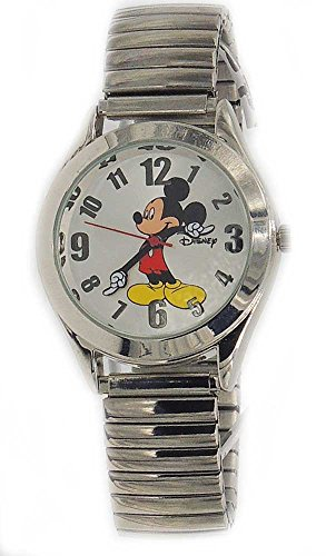 Disney-Women-Vintage-Mickey-Mouse-Stretch-band-Watch