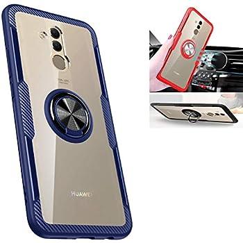 Amazon.com: Huawei Mate 20 lite case,360° Rotating Ring ...