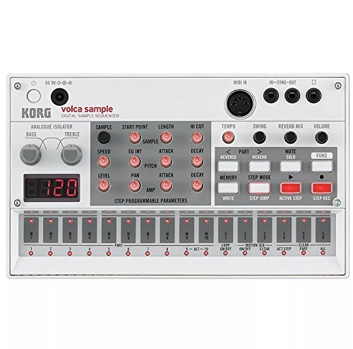 Korg Volca Sample Digital Sample Sequencer and Korg 9V600MACPP 9v 600ma Power Supply by Korg (Image #1)