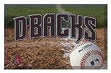 Arizona Diamondbacks Team Door Mat Ball - Arizona Diamondbacks Home Decor
