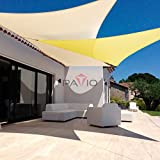 Patio Paradise 16' x 20' Tan Beige Sun Shade Sail