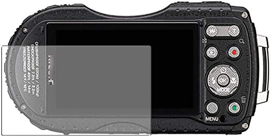 Vaxson Protector de Pantalla de Privacidad, compatible con RICOH WG-5 GPS 73.5/43.5/R1 WG5 [no vidrio templado] TPU Película Protectora Anti Espía