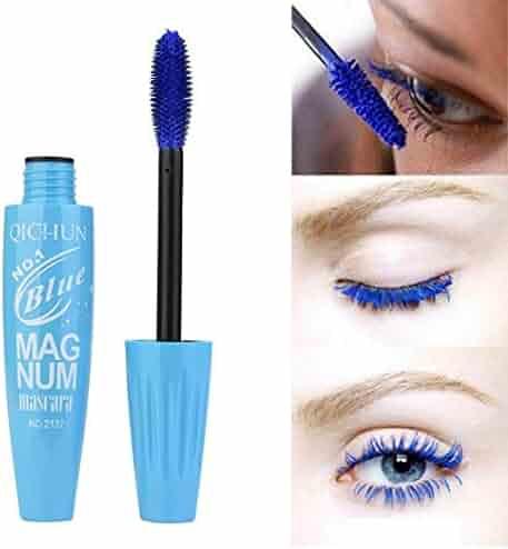 391aa63205c UMFun Long Curling Makeup Eyelash Multicolor Waterproof Fiber Mascara Eye  Lashes