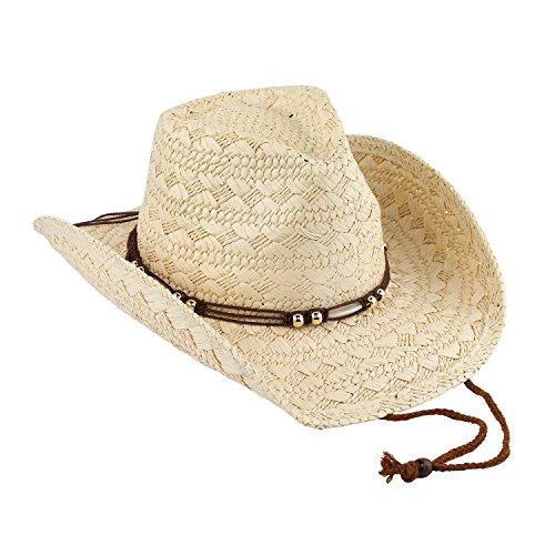 AccessHeadwear Old Stone Jess Women's Cowboy Drifter Style, Beige by AccessHeadwear