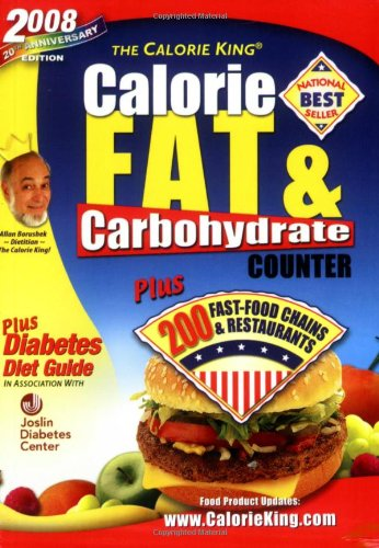 2008 Calorie King Carbohydrate Counter product image