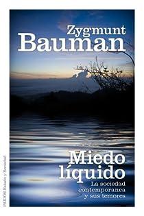 Miedo líquido par Bauman