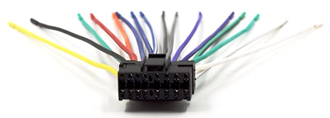 DNF Sony Wiring Harness 16 PIN SOH CDX-CA810X CDX-CA850X CDX-C580 - Harness Sony Diagram Wiring Gt U on