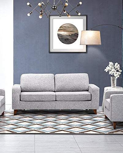 rich blue and grey upholstery fabric chenille sofa chair fabric robust