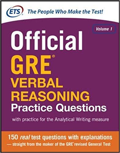 Official GRE Verbal Reasoning Practice Questions (Test Prep ...