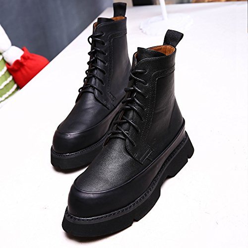 NSXZ Fall and Winter England lace boots Nvzhen boots 90160CM 2ulMwbZ
