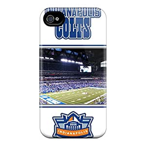 Iphone 4/4s Juh2994EeaR Customized Trendy Indianapolis Colts Image Excellent Hard Phone Case -LauraAdamicska