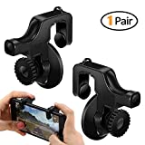 Vakili Fortnite PUBG Mobile Controller Mobile Game Controller Knives Out Rules of Survival PUBG Mobile Game Controller 1 Pair Phone Game Controller Mobile Game Trigger for Android iPhone