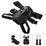 PULUZ Hound Dog Fetch Harness Adjustable Chest Strap Mount for GoPro HERO6 /5 /5 Session /4 Session /4 /3+ /3 /2 /3, Xiaoyi and Other Action Cameras