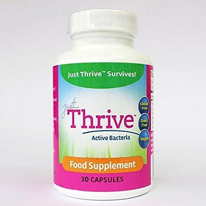 Just Thrive Probiotic 30 Capsules: Amazon.es: Salud y cuidado personal