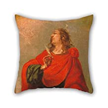 The Oil Painting Juan De Vald??s Leal - Saint John The Evangelist Pillowcase Of 20 X 20 Inches / 50 By 50 Cm Decoration Gift For Home Office Monther Home Father Teens Outdoor (both Sides)