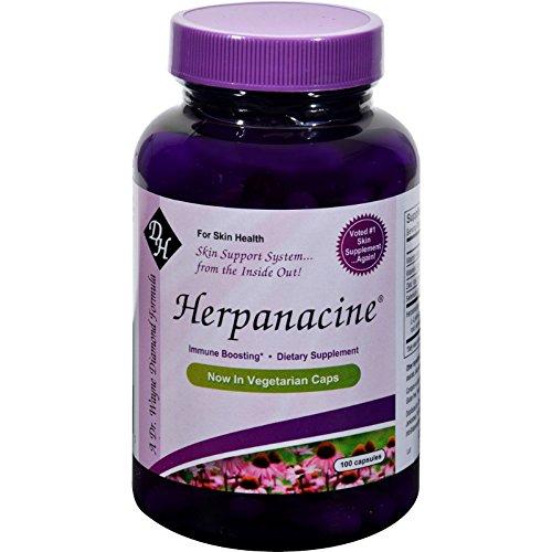 - Diamond-Herpanacine with Antioxidants - For Skin Health - Immune Booster - 100 Vegetarian Capsules (Pack of 2)