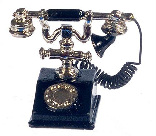 Dollhouse Miniature Old Fashioned Telephone