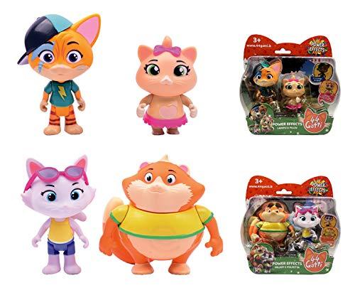 Smoby – Personajes 44 Gatos, Multicolor, 7600180136