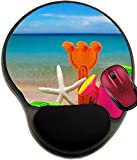 Liili Mousepad wrist protected Mouse Pads/Mat with wrist support design toys for childrens sandboxes against the sea and the beach 28412835