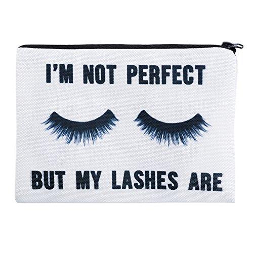 Jom Tokoy Makeup Bags Eyelashes Cosmetic Bags Flamingo Pencil Case